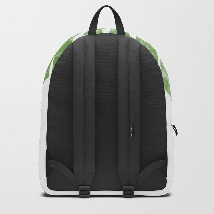 Monstera watercolor Backpack