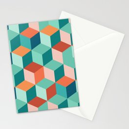 Abstract Geometric Pattern 03 Stationery Cards