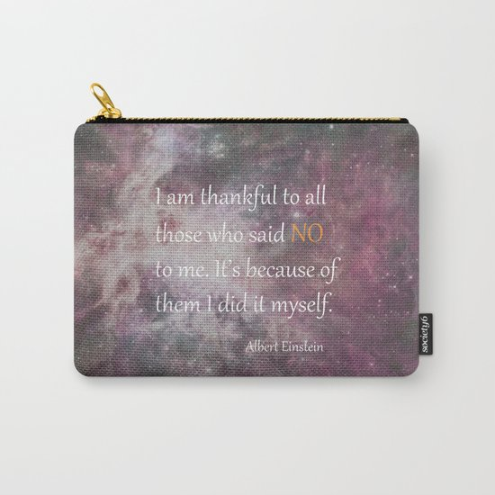 I AM THANKFUL (quote) Carry-All Pouch