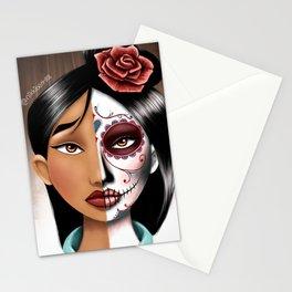 Mulan Sugarskull Stationery Cards