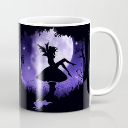 fairy in the moonlight Coffee Mug