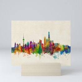 Shanghai China Skyline Mini Art Print