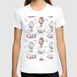 Sky Voyage Watercolor T-shirt