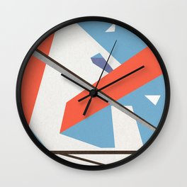 Abstracts Wall Clock