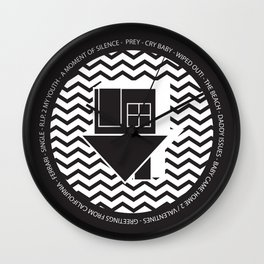 NBHD Wiped Out! Wall Clock