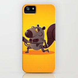 Robo Squirrel iPhone Case