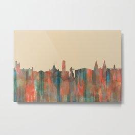 Aberdeen, Scotland Skyline - Navaho Metal Print