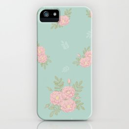 Japanese Rose iPhone Case