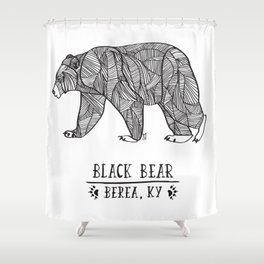 Black Bear - Berea KY Shower Curtain