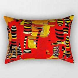 Grand Finale - Red Sky Rectangular Pillow