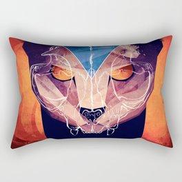 Bastet - Cat Goddess Rectangular Pillow