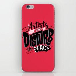 Disturb The Peace iPhone Skin
