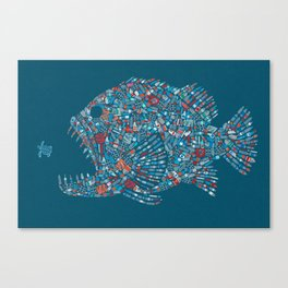 Killer Plastic Canvas Print