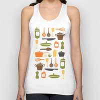 kitchen Tank Tops featuring Kitchen by Bellwheel