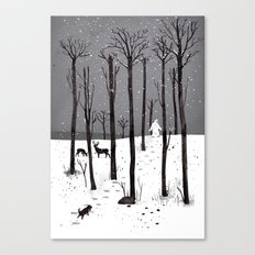 Mister Yeti's Great Escape Canvas Print