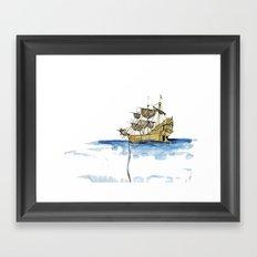 Sailing Ship Framed Art Print