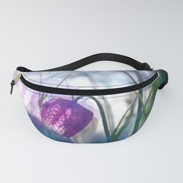 Chequered lily with its magical spirit Fanny Pack