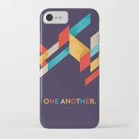 scripture iPhone & iPod Cases featuring One Another Scripture Poster: Romans 12 by Jess Creatives