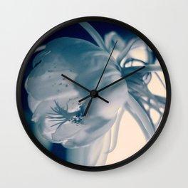 magic flower Wall Clock