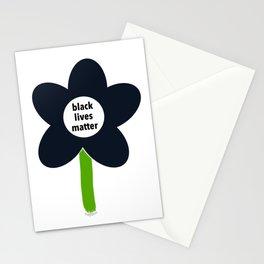 Black Lives Matter - BLM Flower img1 Stationery Cards