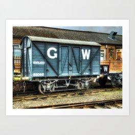 GWR Mink A Van Art Print