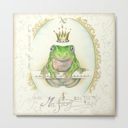 A prince for me.  PrinceFrog Metal Print