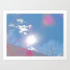 The Sun Bow Art Print