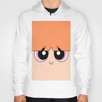 powerpuff girls Hoodies featuring Blossom -The Powerpuff Girls- by CartoonMeeting