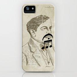 Claude Debussy iPhone Case