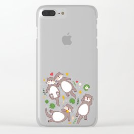 Significant otters Clear iPhone Case