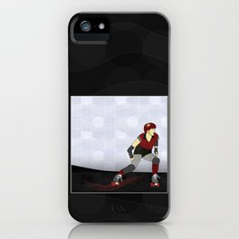 Roller Derby iPhone Case