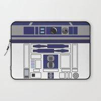 starwars Laptop Sleeves featuring R2D2 - Starwars by Alex Patterson AKA frigopie76