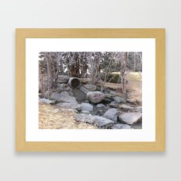 Confederation Park pipe Framed Art Print