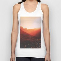 mars Tank Tops featuring Mars. by Daniel Montero