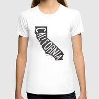 california T-shirts featuring California by cabin supply co