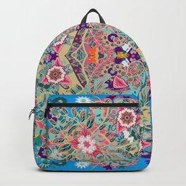 Mandala - Turquoise Boho Backpack