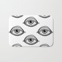 You're Being Watched Bath Mat