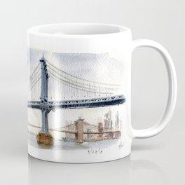 Bridges Over the. East River Coffee Mug