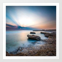 Good Morning Red Sea Art Print