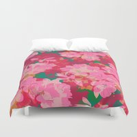 iggy azalea Duvet Covers featuring Azalea by Allison Holdridge