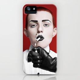 gentlewoman (for a gentleman?) iPhone Case