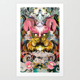 My Spirit Animal Tiger Art Print