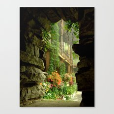 Veranda Canvas Print