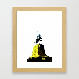 Garibaldi knight Framed Art Print