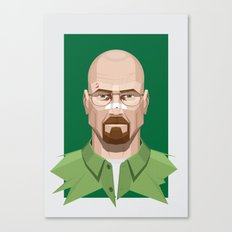 Breaking Bad - Walter White Beaten Up Canvas Print