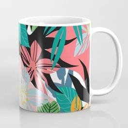 tropical plants Coffee Mug