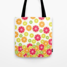 Citrus slices Tote Bag