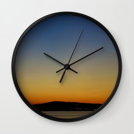 San Pedro Twilight Wall Clock