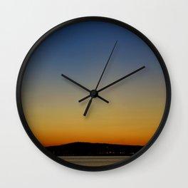San Pedro Twilight Wall Clock