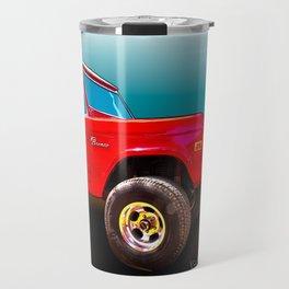 Ford Bronco Classic from VivaChas Hot Rod Art Travel Mug